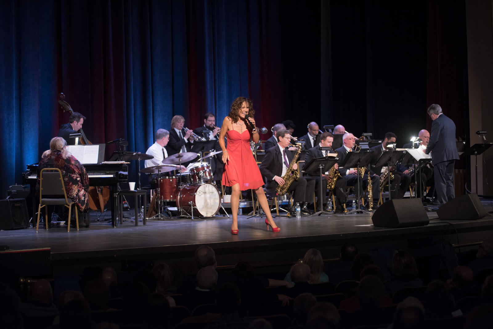 Helen with Cleveland Jazz Orchestra